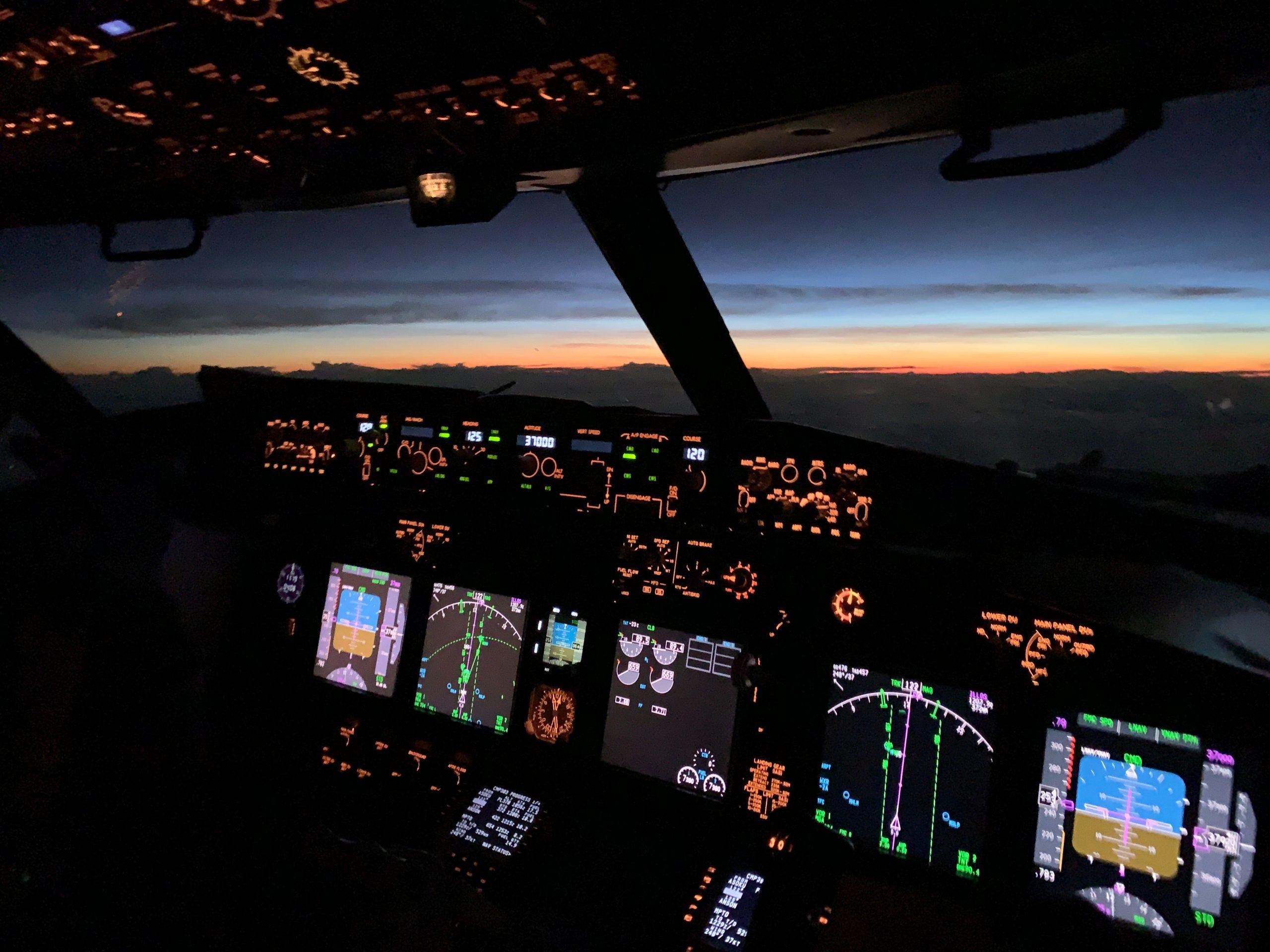 pilot control station